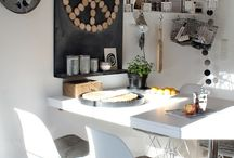 Kitchen Decor / Decor, designs and styles for a modern, retro or antique looking kitchen