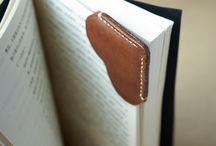 Bokmerke i lær