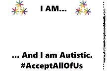 #AcceptAllOfUs / Autism Acceptance Month 2016~!