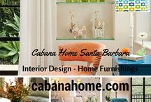 """Cabana Home Santa Barbara / Cabana Home defines """"traditional with a twist"""" furnishings for indoor and outdoor, with a store located in Santa Barbara. Our highly edited selections reflect the California lifestyle and include hard to find and one of a kind furniture, textiles, and accessories from designers, manufacturers, and antique markets in America and Europe."""