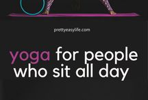 Yoga poses / Yoga posses