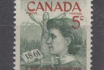 Famous Canadian Women on Stamps / Famous Canadian women as depicted on Canada's Stamps