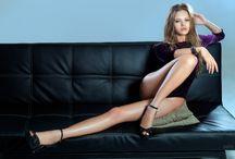 Lyubov Gulyak / Lyubov Gulyak, любовь гуляк, Model, Russia, Hair, Legs, Blonde