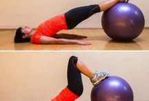 Exercise balls / Stability balls / by Gitta Maehrlein