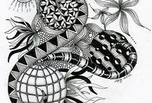 ART...Zentangle ZIA