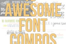 Fonts and Type / Typestyles and Fonts