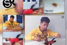 Making of syahril ramadhan / making of syahril ramadhan trik