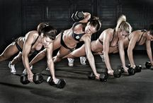 Crossfit and fitness / Board of Crossfit wods, yoga stretches, and general health info