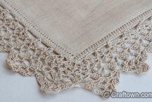 Crochet Linen Edging