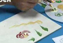 clases de pintura decorativa / pintura Bauern