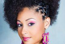 Coiffures de filles noires