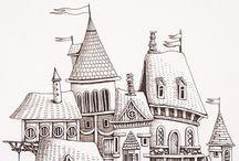 Графика. Zentangle & Doodling