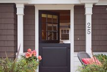 House Numbers / House numbers are one of the least expensive and easy ways to update a home's curb appeal!
