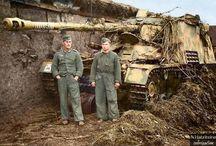 Foto WW II panzerwaffe