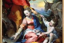 Baroque italian paintings