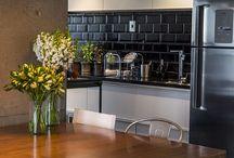 Lustres na decoração de cozinhas