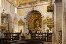 """Igreja / Church / Igreja de Santa Maria do Espinheiro / """"Nossa Senhora do Espinheiro"""" Church."""