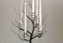 floreros candelabros