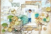 Masculine themed scrapbook pages / Pages that are suitable for boys/masculine layouts