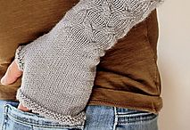 knitted gloves/mittens
