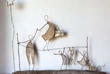 Wire skulpture diy