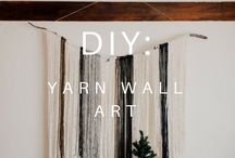Yarn Projects / Knitting and Crochet Project ideas