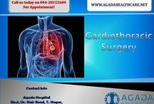 Cardiothoracic Surgery / The cardiovascular surgeons have advanced training and experience with many conditions and surgical procedures including: aortic surgery; valve repair and replacement; and coronary bypass surgery.