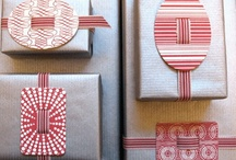 Gift wrapping / by Melanie Spanos