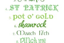 St. Patrick's Day / by Anne Marie Newcomb