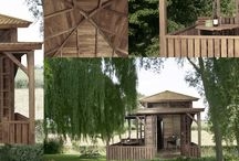 Tuinhuis met veranda / Villa Semesta levert bijzondere teakhouten tuinhuizen met veranda. Geheel dubbelwandig uitgevoerd en custom- made