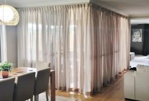 Beautiful Sheers / Sheer curtains add a whimsical touch to any room