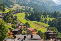 Switzerland / Dream honeymoon destinations for one day.... When my dream becomes a reality....