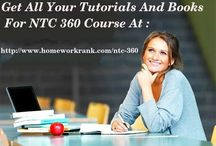 NTC 360 Study material for University of Phoenix