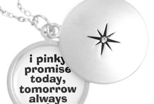 Pinky promise / by Sybil Purvis
