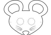 masque de souris