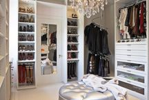 Master Closet / Inspiration for converting an extra bedroom into an additional master closet.