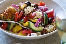 Salads / by Jillian Bartolo