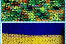 Dos Agujas - Knitting