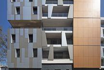 "Immeuble de Logement collectif ""terre de bannière""- lyon 3 / Immeuble de logements collectifs de 49 appartements."