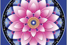 Mandela flower designs