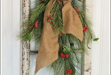 christmas decorations rustic