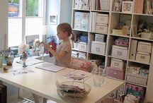 Craft room ideas / by Amanda Nilsson