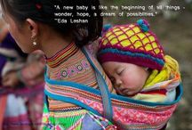 Babytragen in anderen Kulturen
