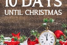 Christmas Countdown / A festive fact each day for the 10 day countdown to Christmas!