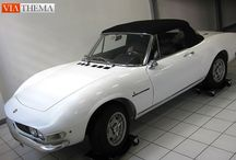 Fiat Classic Cars / Fiat Classic & Collector Motor Cars for Sale - We buy, sell, broker, locate, consign and appraise exceptional classic, sports and collector automobiles, arrange transport, customs formalities and registration. www.viathema.com
