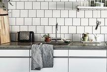Hvite kjøkken