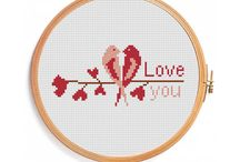Monogram Cross Stitch Patterns / Cross stitch patterns Monogram, Cross stitch patterns Letters, Flowers alphabet