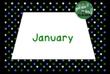 January Resources / January teaching resources
