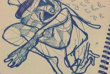 Sketchbook / Algumas ideias e estudos que desenvolvi no ano de 2012