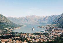 Croatie,  Montenegro, Tsjechie